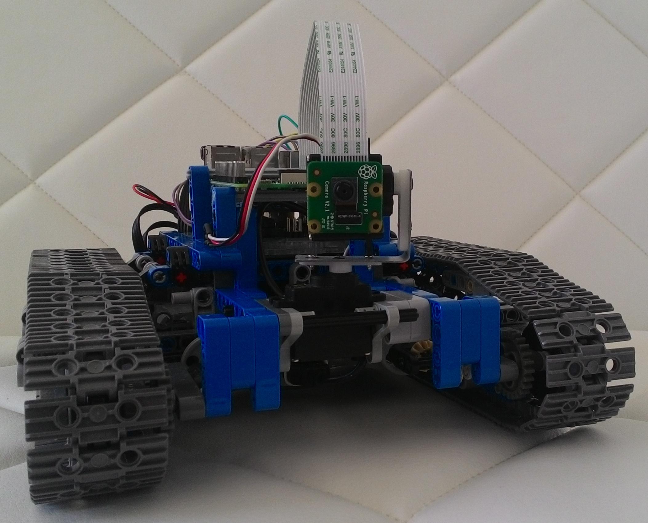 Arduino lego robot update klarsen